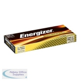 Energizer Industrial Battery AAA/LR03 Pack of 10 636106