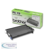 Brother Fax Cassette Page Life 144pp Black Ref PC70