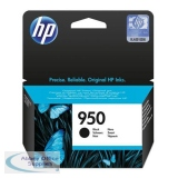 Hewlett Packard No950 OfficeJet Inkjet Cartridge Black CN049AE