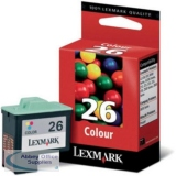 Lexmark No26 Z13/Z33/Z725 Inkjet Cartridge Colour 10N0026E
