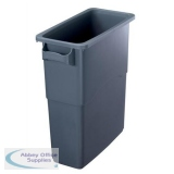 EcoSort Recycling System Midi Bin 60 Litre Capacity Anthracite Grey Ref SPICEMIDGREY1