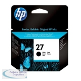 Hewlett Packard No27 Inkjet Cartridge Black 10ml C8727AE