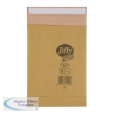 Jiffy Green Padded Bags P&S Cushioning Size 1 165x280mm Ref 01900 [Pack 25]