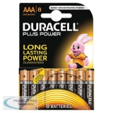 Duracell Plus Battery AAA Pack of 8 81275401