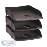 Avery Desktop Letter Tray Black DR100