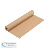 Kraft Wrapping Paper Roll 70gsm 500mmx25m Brown