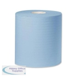 KC Industrial Sized Giant Cleaning Towel Roll 2-Ply 310mmx350m Blue Ref Y04440