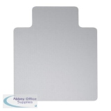 5 Star Office Chair Mat For Carpets PVC Lipped 900x1200mm Clear/Transparent