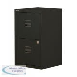 Bisley A4 Homefiler 3 Drawer Lockable Black PFA3-93