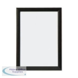 5 Star Facilities Snap Picture or Certificate Frame Polystyrene Front Back-loading A3 328x12x451mm Black