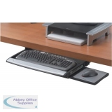 Fellowes Office Suites Deluxe Keyboard Drawer Black/Silver 8031201