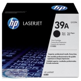 Hewlett Packard No39A LaserJet Toner Cartridge Black Q1339A