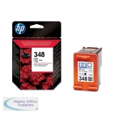 Hewlett Packard No348 Photo Inkjet Cartridge Black/Light Cyan/Light Magenta C9369EE