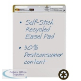Post-it Easel Pad Recycled Self-adhesive 30 Sheets 762x635mm Ref 559RP [Pack 2]