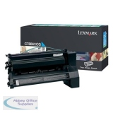 Lexmark C780/C782/X782E Return Programme High Yield Toner Cartridge Cyan C780H1CG
