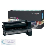 Lexmark C780/C782/X782E Return Programme High Yield Toner Cartridge Magenta C780H1MG