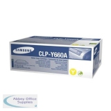 Samsung Toner Cartridge Yellow CLP-Y660A/ELS