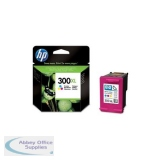 Hewlett Packard No300XL Inkjet Cartridge 3-Colour CC644EE#ABB