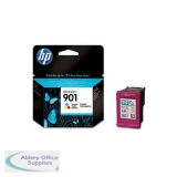 Hewlett Packard No901 Inkjet Cartridge 3-Colour CC656AE#ABB