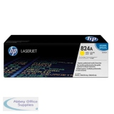 Hewlett Packard No824A LaserJet Toner Cartridge Yellow CB382A