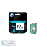 Hewlett Packard No343 Inkjet Cartridge 3-Colour C8766EE