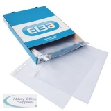 Elba Standard Pocket Polypropylene Top-opening 70 Micron A4 Clear Ref 400005371 [Pack 100]