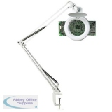 Unilux Magnifier Lamp 3 Diopters H1000mm 22W G10Q White Ref 100340268