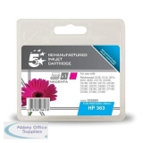 5 Star Compatible Inkjet Cartridge Page Life 350pp Magenta [HP No. 363 C8772EE Alternative]