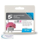 5 Star Compatible Inkjet Cartridge Page Life 350pp Light Magenta [HP No. 363 C8775EE Alternative]