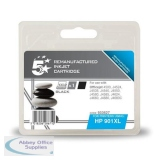 5 Star Compatible Inkjet Cartridge Page Life 700pp Black [HP No. 901XL CC654AE Alternative]