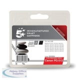 5 Star Compatible Inkjet Cartridge Page Life 400pp Black [Canon PG-512BK Alternative]