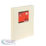5 Star Office Coloured Copier Paper Multifunctional Ream-Wrapped 80gsm A3 Light Cream [500 Sheets]