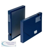 5 Star Office Document Box Polypropylene 30mm A4 Blue [Pack 10]