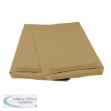 5 Star Office Envelopes Pocket Self Seal Window 90gsm C4 324x229mm Manilla [Pack 250]