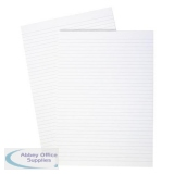 5 Star Office Memo Pad Headbound 70gsm Ruled 160pp A4 White Paper [Pack 10]