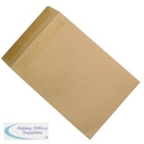 5 Star Office Envelopes FSC Recycled Pocket Peel & Seal 115gsm 381x254mm Manilla [Pack 250]