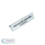 Identibadge Name Place Holder 210x65mm (5 Pack) IBNP2