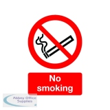 Safety Sign No Smoking A5 Self-Adhesive ML02051S