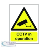 Warning Sign CCTV In Operation A5 PVC GN00751R