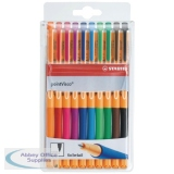 Stabilo pointVisco Gel Ink Assorted Rollerball Pens (10 Pack) 1099/10