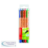 Stabilo GREENpoint Sign Pen Assorted (4 Pack) 6088/4