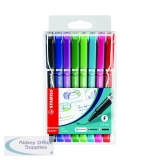 Stabilo Sensor Fineliner Bright Pen Assorted (8 Pack) 189/8