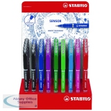 Stabilo Sensor Fineliner Display Stand Assorted Colours (48 Pack) 189/48-1