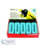 Stabilo Boss Original Blue Highlighter (10 Pack) 70/31/10