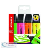 Stabilo Boss Original Assorted Highlighters (4 Pack) 70/4