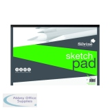 Silvine Drawing Pad Acid Free Cartridge Paper 50 Sheets A3 475