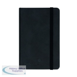 Silvine Executive Notebook 160 Pages A6 Black 196BK
