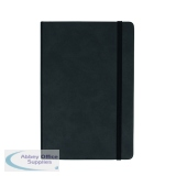 Silvine Executive Notebook 160 Pages A5 Black 197BK