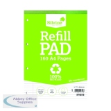 Silvine Everyday Recycled Ruled Refill Pad A4 (6 Pack) RE4FM-T