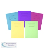 Silvine Exercise Books 9 x 7in / 229 x 178mm Assorted (10 Pack) EX115-S